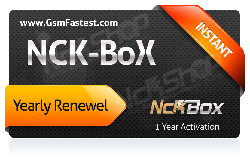 Nck Box Activation