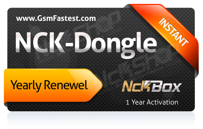 Nck Dongle Activation