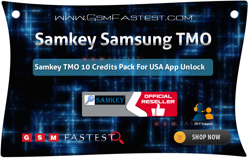 SamKey TMO Account 10 Credit