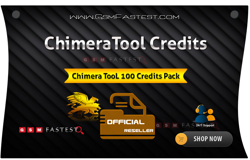 Chimera Tool 100 Credits By GsmFastest
