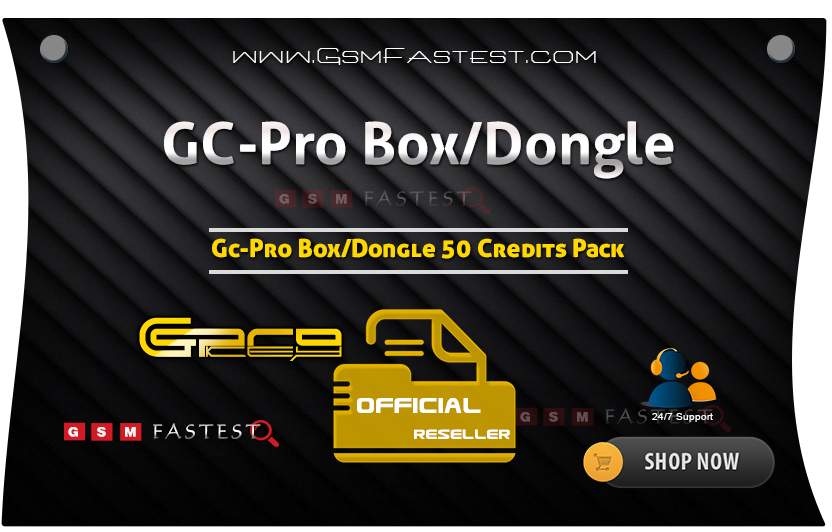 GCPro Box/Dongle 50 Credits