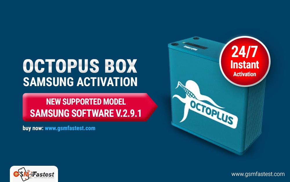 Octopus Medusa Box Samsung Activation