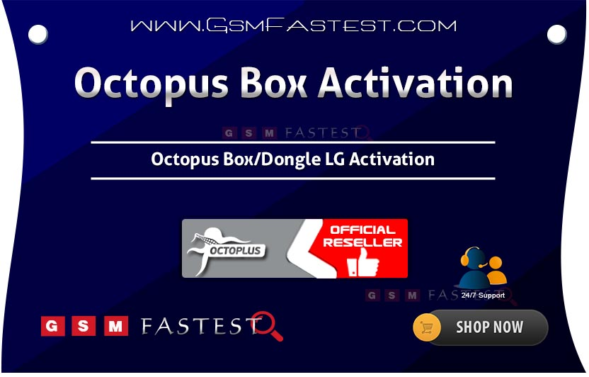 Octopus Box Medusa LG Activation