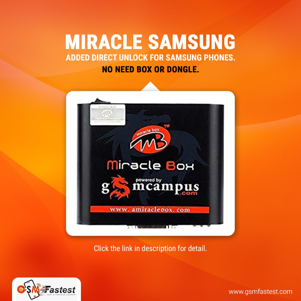 Miracle Samsung New Account 10 credit