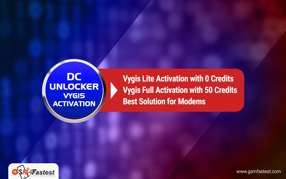 DC Unlocker vygis activation LITE 0 credits