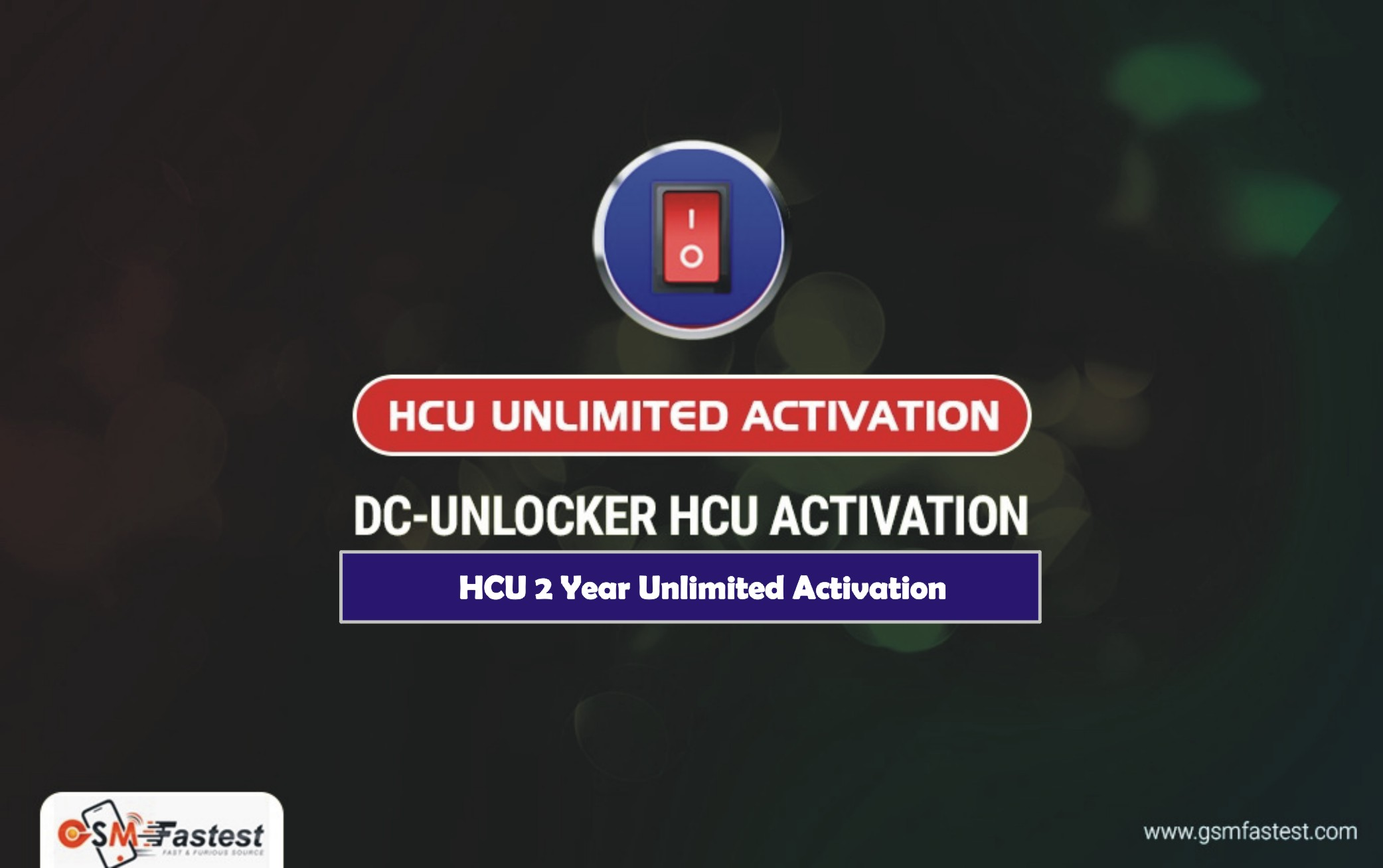 HCU Unlimited Activation For 2 Year