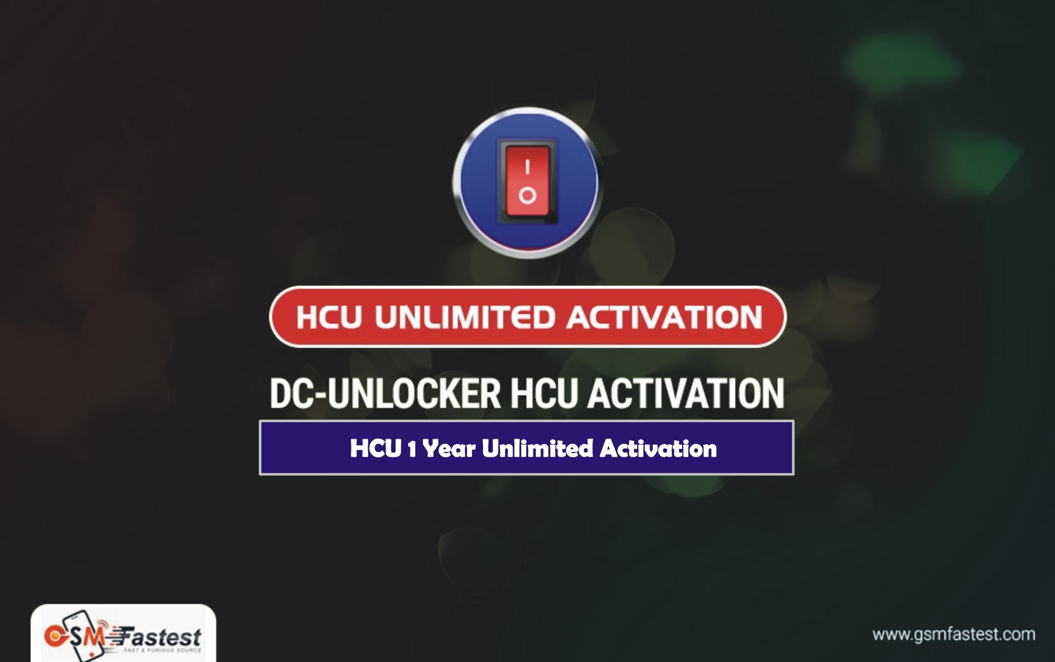 HCU Unlimited Activation For 1 Year