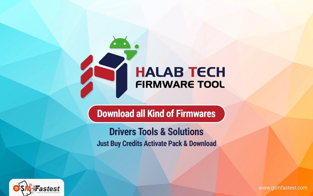 HalabTech Firmware Tool Credits