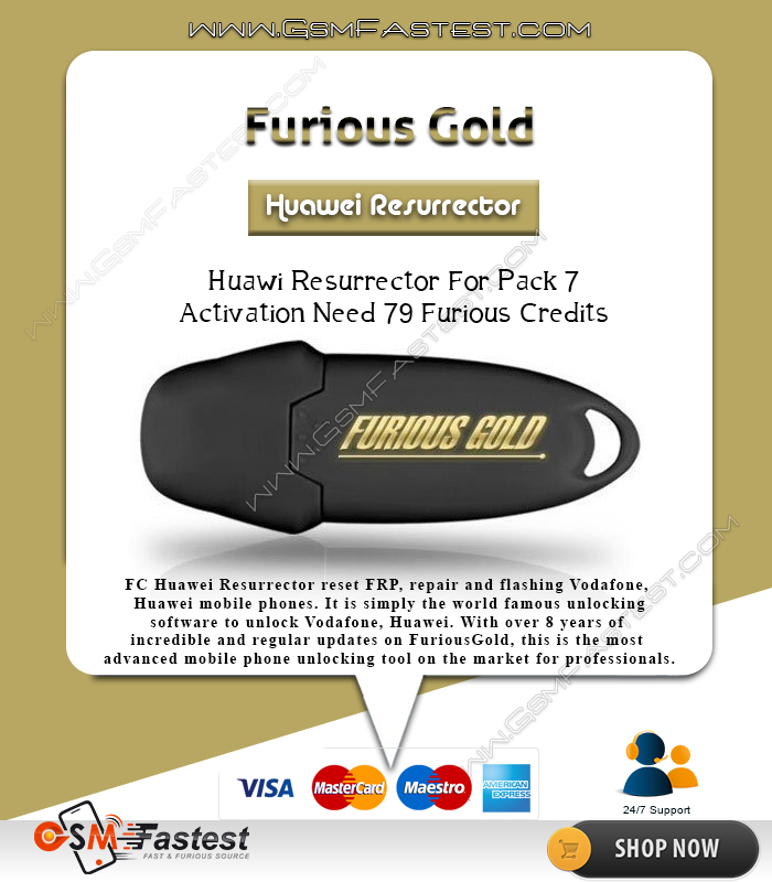 Furious Gold Huawei RESURRECTOR For Pack 7