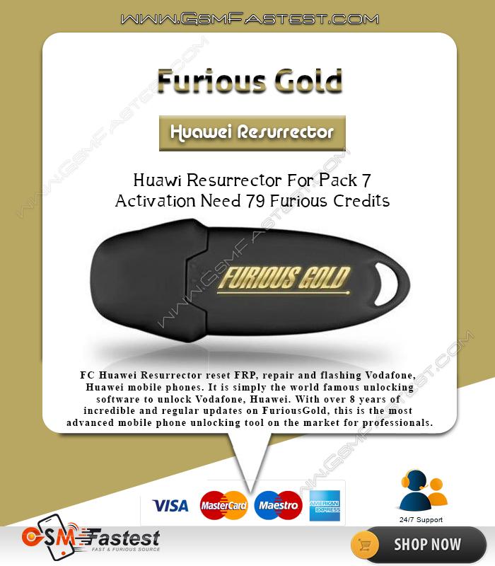 Furious Gold Huawei RESURRECTOR For Pack 7