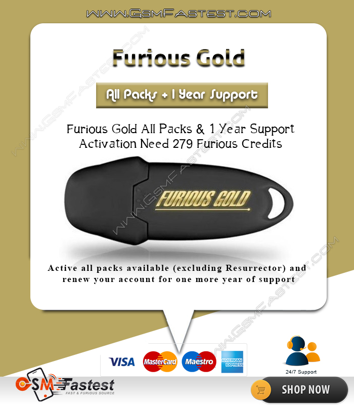 Furious Gold SPECIAL ALL PACKS + 1 YEAR